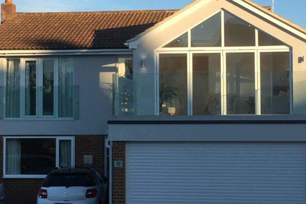 BMC Builders built extension garage balcony