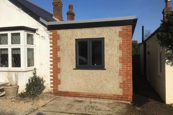BMC Builders bungalow one-storey extension completed